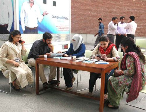 Shalamar Diabetes Day at LUMS
