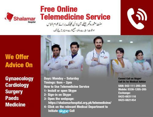 Free Telemedicine Service